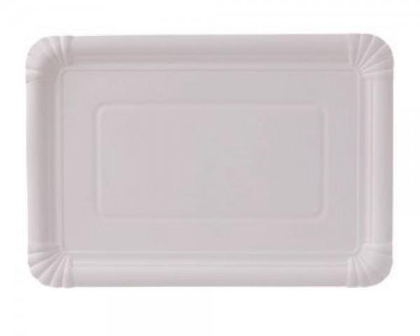 Pappteller 18x26 cm rechteckig günstig kaufen
