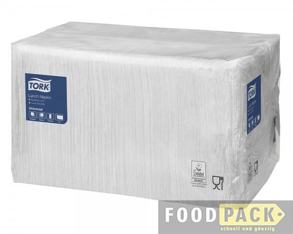 Servietten 33x33 cm weiß günstig kaufen