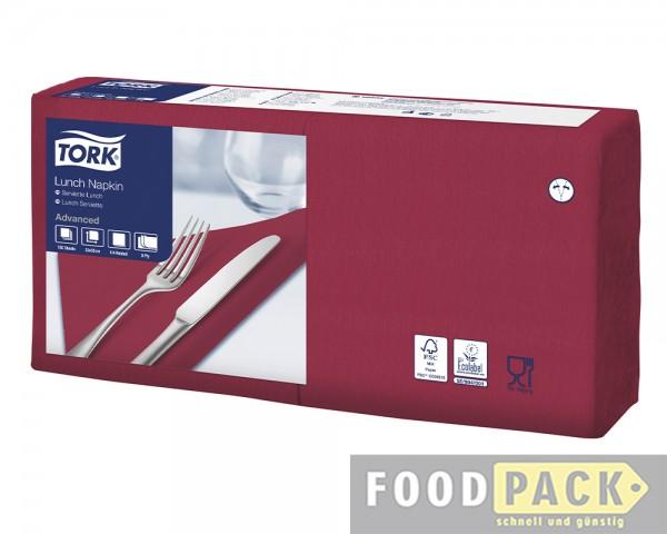 Servietten 33x33 cm bordeaux-rot günstig kaufen