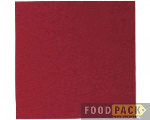 Servietten 33x33 cm bordeaux-rot online kaufen