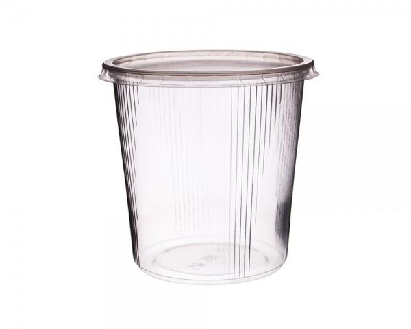 Feinkost-Becher 500 ml rund mit Deckel günstig kaufen