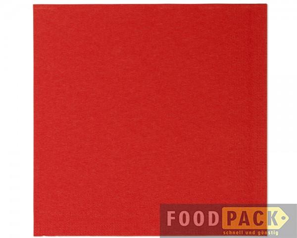 Servietten 33x33 cm rot online kaufen