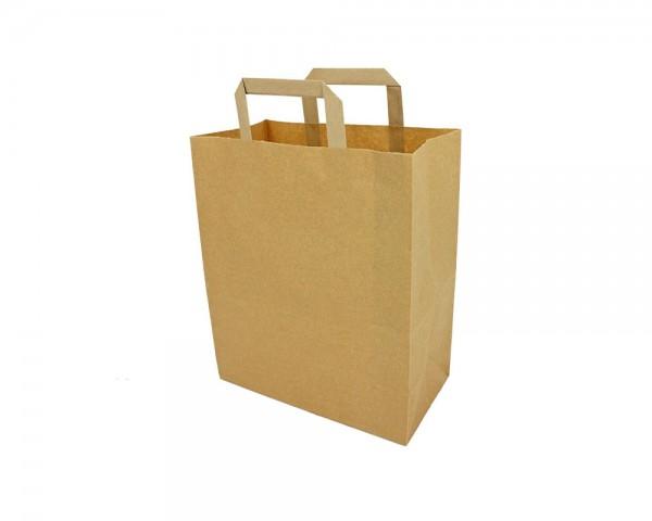 Papiertragetaschen in braun günstig online kaufen