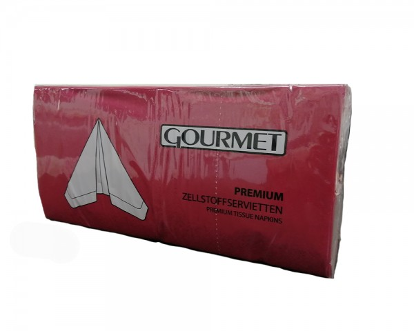 Servietten dunkel-rot 33x33 cm 3-lagig günstig kaufen